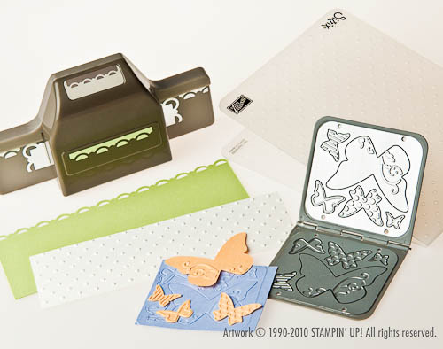 New Stampin' Up! punches and dies
